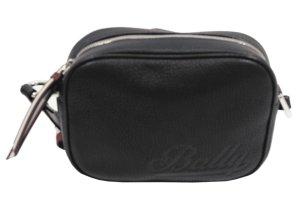 Bally Schultertasche in Schwarz aus Leder