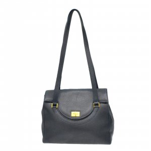 Bally Shoulder Bag black leather