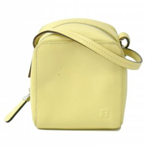 Bally Handbag yellow leather