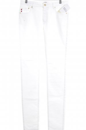 Bally Skinny Jeans weiß Casual-Look