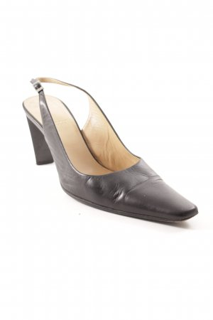 Bally Slingback-Pumps schwarz Business-Look
