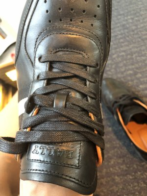 Bally Sneakers black neu 38
