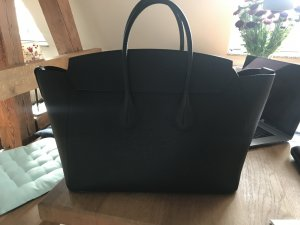 Bally Sommet MD Calf Leather Tote Bag large black