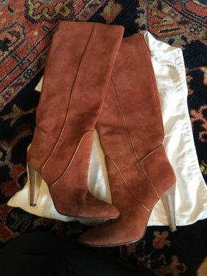 Bally Stiefel aus wild Leder , super Zustand