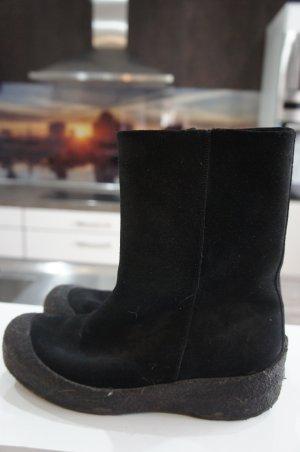 BALLY Stiefel Sehr warm Größe 38 Schaffell NP 429 €