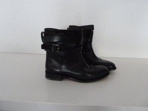 Bally Slip-on Booties black leather