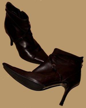 BALLY STIEFELETTEN Stiefel dunkelbraun Gr. 36,5