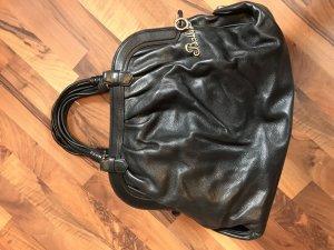 Bally Tasche Bag schwarz Handtasche Leder Luxusmarke Luxusartikel Edel Vintage