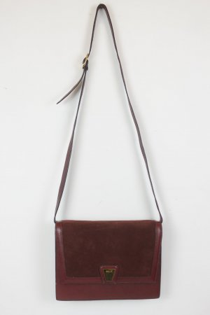 BALLY Tasche Handtasche Cross Body Bag weinrot  Vintage