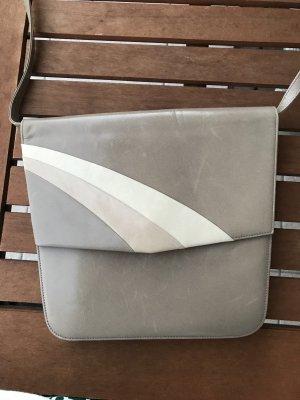 Bally Tasche Vintage Umhängetasche grau