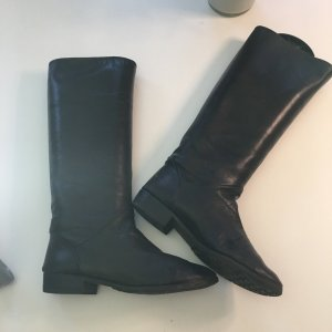 Bally Riding Boots black leather