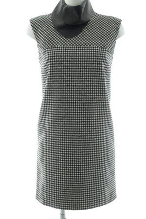 Bally Vestito di lana nero-bianco motivo a quadri stile professionale