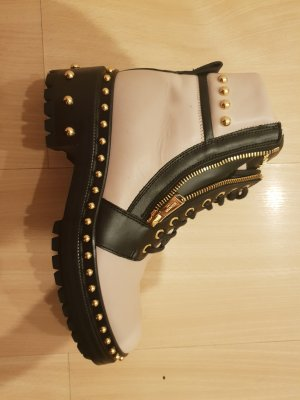 Balmain Low boot multicolore cuir