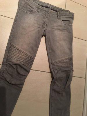 Balmain biker Jeans grau gr. 36