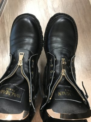 Balmain Boots echtes Leder