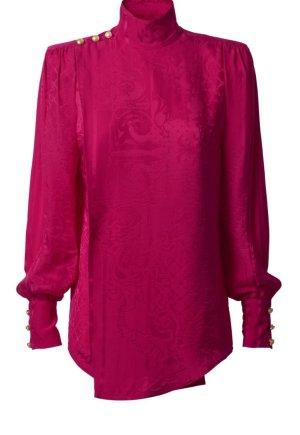 Balmain for H&M Bluse aus Seide Größe 38