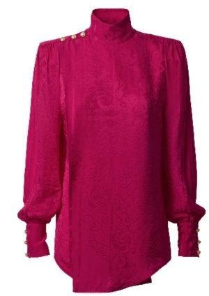 Balmain for H&M bluse fuchsia neu