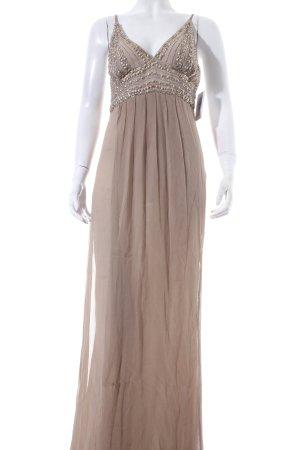 Balmain for H&M Chiffonkleid beige Eleganz-Look