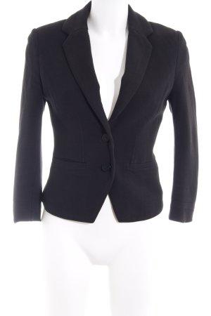 Balmain for H&M Blazer court noir style d'affaires