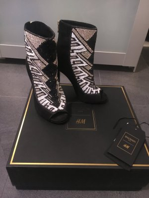 Balmain for H&M High-Heeled Sandals multicolored leather