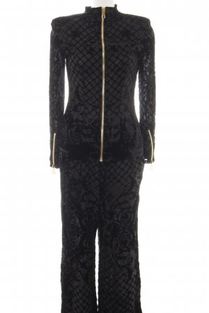 Balmain for H&M Web Twin Set schwarz Allover-Druck Elegant