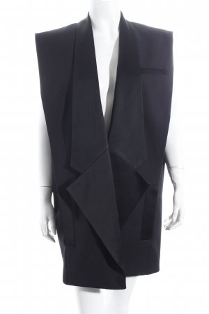Balmain for H&M Weste schwarz Street-Fashion-Look