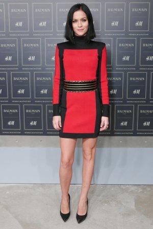 Balmain (H&M) Designer Dress, Gr. 36, rot schwarz, NEU!