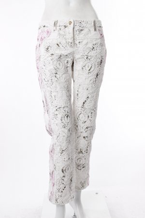 Balmain Hose aus Reliefgewebe mit Glitzer