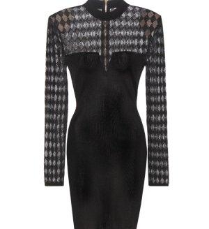 Balmain Vestido de cóctel negro