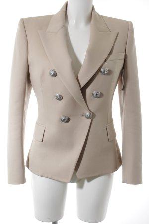 Balmain Kurz-Blazer beige Street-Fashion-Look