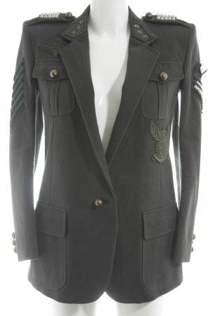 Balmain Militaryjacke khaki extravaganter Stil