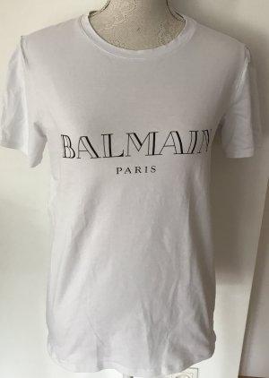 Balmain Paris Shirt weiß