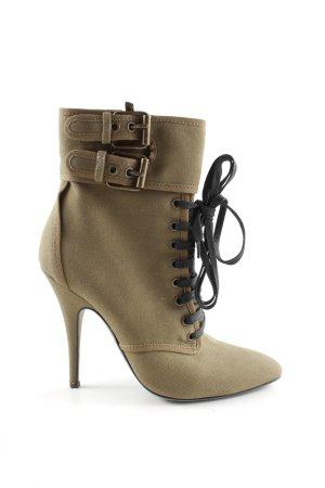"Balmain Zipper Booties ""UMA"" bronze-colored"