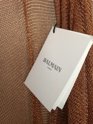 Balmain runaway metallic cardigan