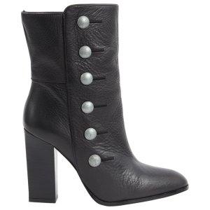 Balmain Heel Boots black