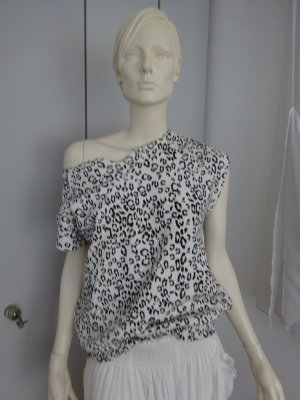 Pierre Balmain Oversized shirt zwart-wit Katoen