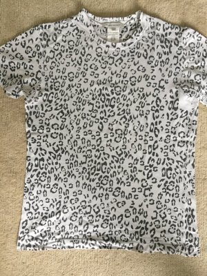Balmain T-shirt imprimé noir-crème