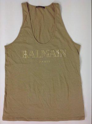 Balmain T-Shirt FR 38 beige