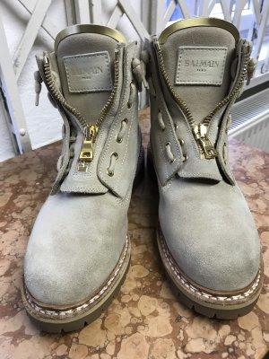 Balmain Taiga Boots Beige Gr 39