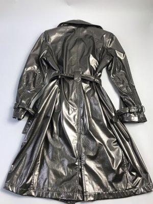 Balmain Trenchcoat metallic Gr L