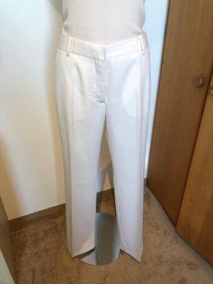 Balmain Pantalon en laine crème laine
