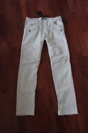 Balmain for H&M Biker jeans wit Katoen