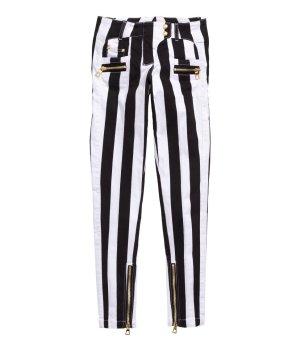 Balmain X H&M Bikerhose Stripes 34