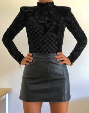 Balmain for H&M Blouse en crash noir