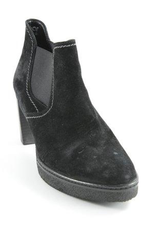 Bama Slip-on Booties black casual look