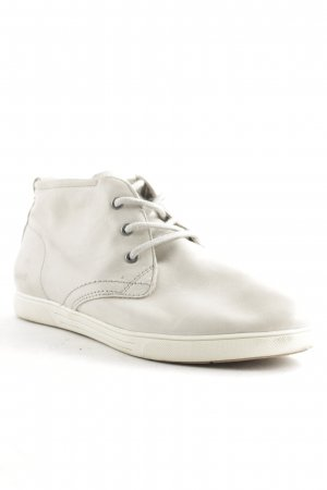 Bama Lace Shoes light grey-white casual look