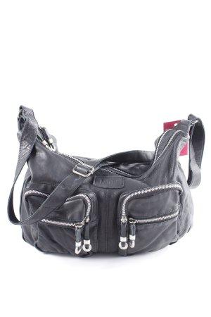 Bama Gekruiste tas zwart simpele stijl