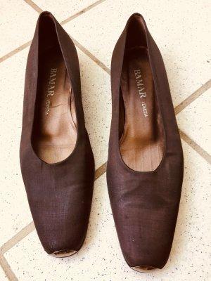 BAMAR, Venezia Schuhe, Leder/ Textil, Gr.40, 25€