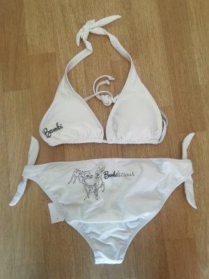 Bambilicious Bambi Disney Strand Bikini weiss Gr 38 NEU