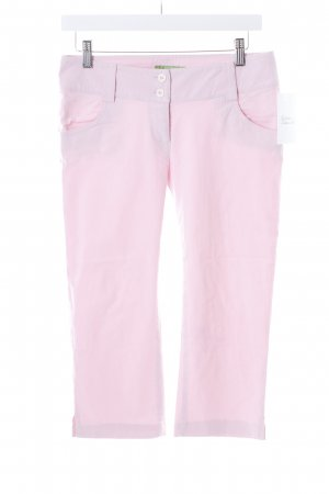 Bamboo 3/4 Length Trousers light pink casual look